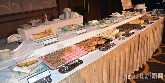 成田特産のサツマイモを使ったスイーツの競宴